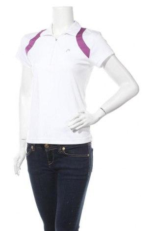 Дамска тениска Head, Размер L, Цвят Бял, Полиестер, Цена 17,96лв.
