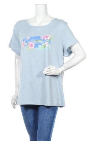 Γυναικείο t-shirt Kangaroos, Μέγεθος 3XL, Χρώμα Μπλέ, Βαμβάκι, Τιμή 13,15€