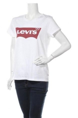 Дамска тениска Levi's, Размер L, Цвят Бял, Памук, Цена 43,07лв.
