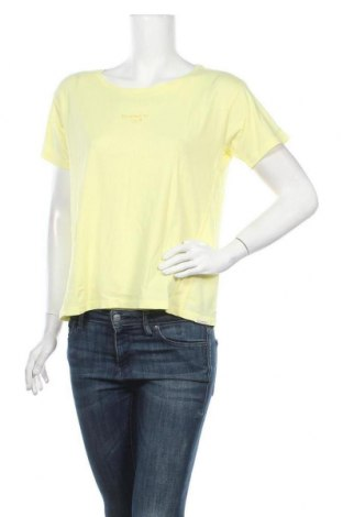 Дамска тениска Maison Scotch, Размер S, Цвят Жълт, Памук, Цена 59,25лв.