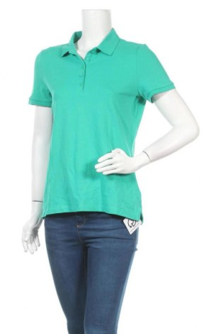 Дамска тениска Montego, Размер L, Цвят Зелен, 95% памук, 5% еластан, Цена 24,00лв.