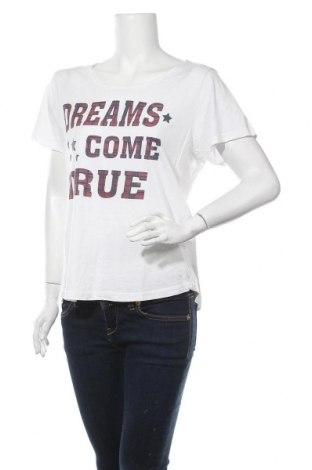 Дамска тениска Multiblu, Размер XXL, Цвят Бял, 50% памук, 50% вискоза, Цена 7,14лв.