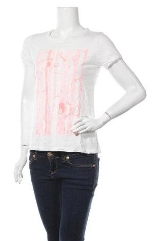 Γυναικείο t-shirt Pieces, Μέγεθος S, Χρώμα Λευκό, Βαμβάκι, Τιμή 11,04€