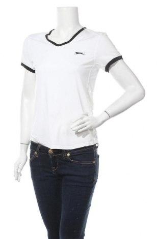 Дамска тениска Slazenger, Размер M, Цвят Бял, 88% полиамид, 12% еластан, Цена 21,07лв.