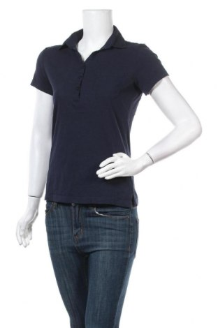 Дамска тениска Tom Tailor, Размер M, Цвят Син, Памук, Цена 21,76лв.