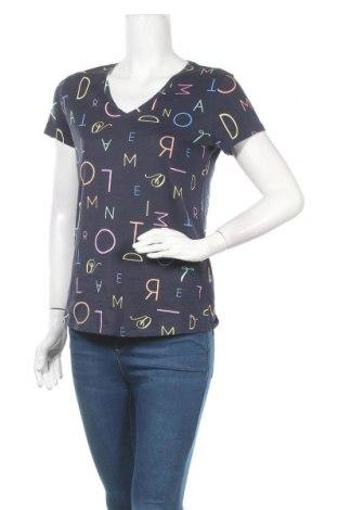 Γυναικείο t-shirt Tom Tailor, Μέγεθος S, Χρώμα Μπλέ, Βαμβάκι, Τιμή 14,07€