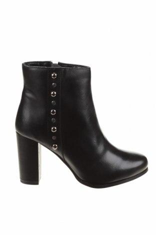 Дамски боти Apolina, Размер 38, Цвят Черен, Естествена кожа, Цена 82,78лв.