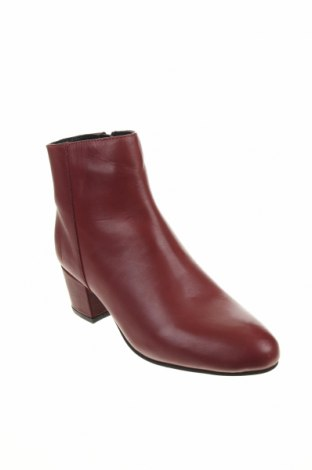 Дамски боти Apolina, Размер 38, Цвят Червен, Естествена кожа, Цена 149,00лв.