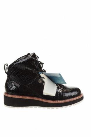 Дамски боти Pepe Jeans, Размер 36, Цвят Черен, Еко кожа, Цена 239,00лв.