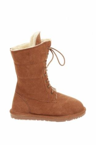 Dámské boty  Nice Bay, Velikost 38, Barva Hnědá, Přírodní velur , Cena  1315,00Kč