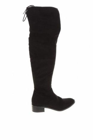 Дамски ботуши S.Oliver, Размер 38, Цвят Черен, Текстил, Цена 53,36лв.