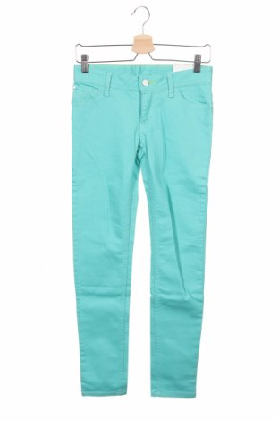 Дамски дънки Adidas Neo, Размер S, Цвят Син, 98% памук, 2% еластан, Цена 61,50лв.