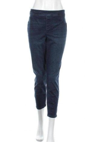 Дамски дънки Ava & Viv, Размер XL, Цвят Син, 63% памук, 23% полиестер, 11% вискоза, 3% еластан, Цена 27,30лв.