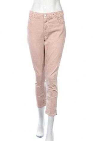 Дамски дънки Be You, Размер L, Цвят Розов, 68% памук, 29% полиестер, 3% еластан, Цена 9,28лв.