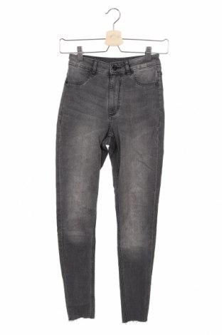 Дамски дънки Cheap Monday, Размер XXS, Цвят Сив, 73% памук, 25% полиестер, 2% еластан, Цена 14,70лв.