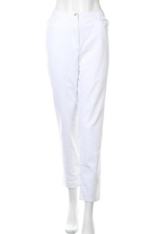 Дамски дънки Cosma, Размер XL, Цвят Бял, 97% памук, 3% еластан, Цена 10,92лв.