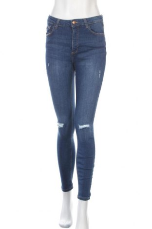 Dámské džíny  Denim Co, Velikost M, Barva Modrá, 62% bavlna, 18% polyester, 18% viskóza, 2% elastan, Cena  446,00Kč