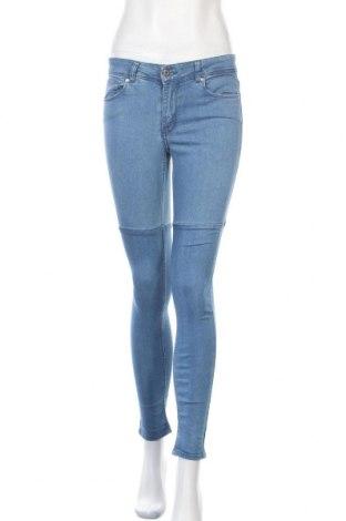 Dámské džíny  H&M Divided, Velikost S, Barva Modrá, 79% bavlna, 20% polyester, 1% elastan, Cena  367,00Kč
