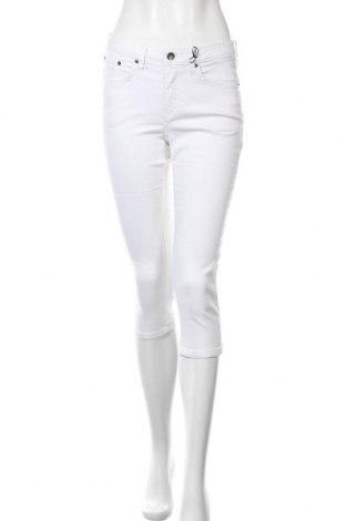 Дамски дънки H.i.s, Размер M, Цвят Бял, 55% памук, 21% полиестер, 14% лиосел, 9% вискоза, 1% еластан, Цена 40,60лв.