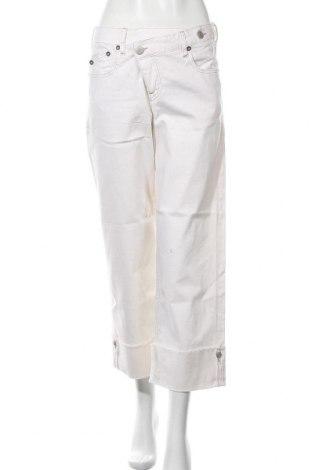 Дамски дънки Herrlicher, Размер M, Цвят Екрю, 97% памук, 3% еластан, Цена 90,35лв.
