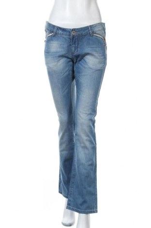 Дамски дънки Kenvelo, Размер XL, Цвят Син, 99% памук, 1% еластан, Цена 30,92лв.