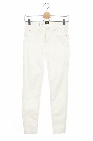 Dámské džíny  Lee, Velikost S, Barva Bílá, 98% bavlna, 2% elastan, Cena  580,00Kč