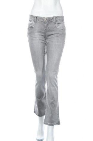 Дамски дънки Ltb, Размер M, Цвят Сив, 95% памук, 5% еластан, Цена 66,75лв.