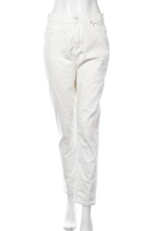 Дамски дънки MSCH, Размер L, Цвят Бял, 98% памук, 2% еластан, Цена 39,60лв.
