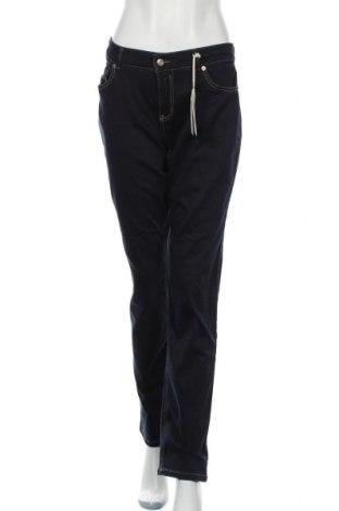 Дамски дънки Mac, Размер XL, Цвят Син, 92% памук, 6% полиестер, 2% еластан, Цена 40,64лв.