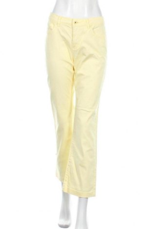 Дамски дънки My Own, Размер M, Цвят Жълт, 97% памук, 3% еластан, Цена 10,29лв.
