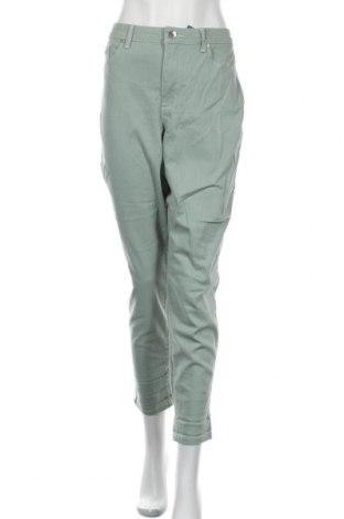 Дамски дънки Nine West, Размер XL, Цвят Зелен, 98% памук, 2% еластан, Цена 124,95лв.