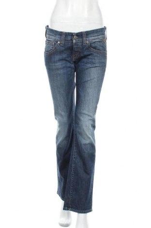 Dámské džíny  Replay, Velikost M, Barva Modrá, 98% bavlna, 2% elastan, Cena  861,00Kč