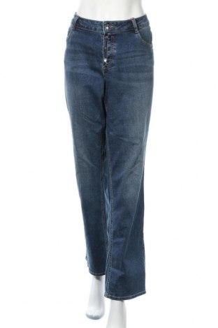 Dámské džíny  S.Oliver, Velikost XXL, Barva Modrá, 98% bavlna, 2% elastan, Cena  594,00Kč