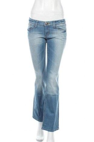 Дамски дънки Tom Tailor, Размер S, Цвят Син, 98% памук, 2% еластан, Цена 53,25лв.