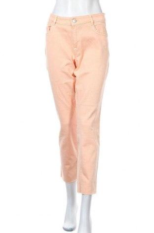 Дамски дънки Tom Tailor, Размер XL, Цвят Розов, 98% памук, 2% еластан, Цена 27,06лв.