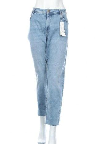 Γυναικείο Τζίν Tom Tailor, Μέγεθος XXL, Χρώμα Μπλέ, 91% βαμβάκι, 7% πολυεστέρας, 2% ελαστάνη, Τιμή 34,41€