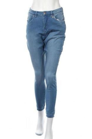 Дамски дънки Zizzi, Размер XL, Цвят Син, 65% памук, 32% полиестер, 3% еластан, Цена 33,12лв.
