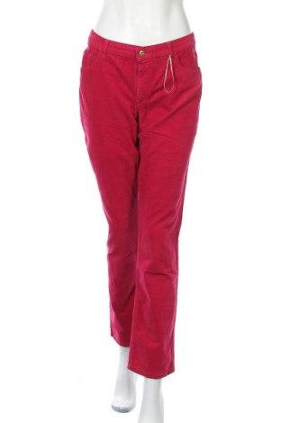 Pantaloni de velvet de femei Christian Berg, Mărime XL, Culoare Roz, 98% bumbac, 2% elastan, Preț 82,89 Lei