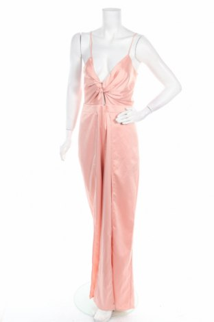 Дамски гащеризон Forever Unique, Размер M, Цвят Розов, Полиестер, Цена 56,70лв.