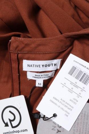 Дамски гащеризон Native Youth, Размер M, Цвят Кафяв, Памук, Цена 66,75лв.