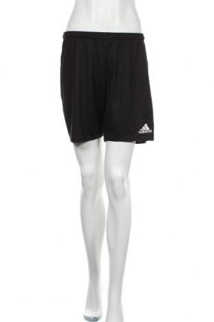 Γυναικείο κοντό παντελόνι Adidas, Μέγεθος S, Χρώμα Μαύρο, Πολυεστέρας, Τιμή 14,91€