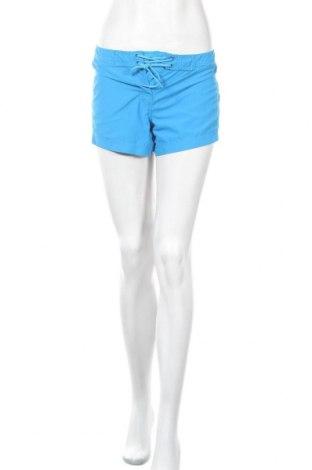 Γυναικείο κοντό παντελόνι Adidas, Μέγεθος M, Χρώμα Μπλέ, Πολυεστέρας, Τιμή 3,72€