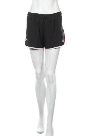 Γυναικείο κοντό παντελόνι Adidas, Μέγεθος S, Χρώμα Μαύρο, Πολυεστέρας, Τιμή 13,51€