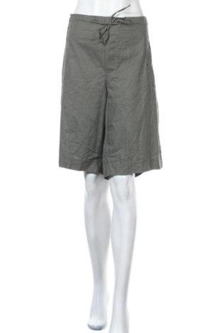 Дамски къс панталон Alexia, Размер XXL, Цвят Зелен, Памук, Цена 26,25лв.