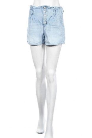 Дамски къс панталон American Eagle, Размер M, Цвят Син, Памук, Цена 17,85лв.