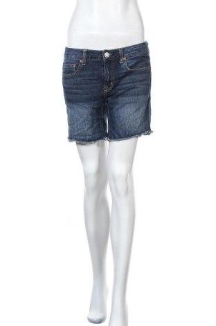 Дамски къс панталон American Eagle, Размер M, Цвят Син, 100% памук, Цена 20,95лв.