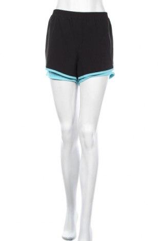Дамски къс панталон Athletic Works, Размер XL, Цвят Черен, 93% полиестер, 7% еластан, Цена 16,80лв.