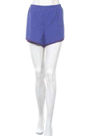 Дамски къс панталон Athletic Works, Размер XL, Цвят Лилав, 93% полиестер, 7% еластан, Цена 20,95лв.