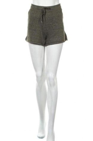 Дамски къс панталон Athletic Works, Размер M, Цвят Зелен, 55% памук, 45% полиестер, Цена 19,95лв.