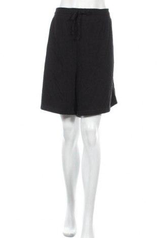 Γυναικείο κοντό παντελόνι Avella, Μέγεθος 3XL, Χρώμα Μαύρο, Πολυεστέρας, βαμβάκι, Τιμή 13,64€
